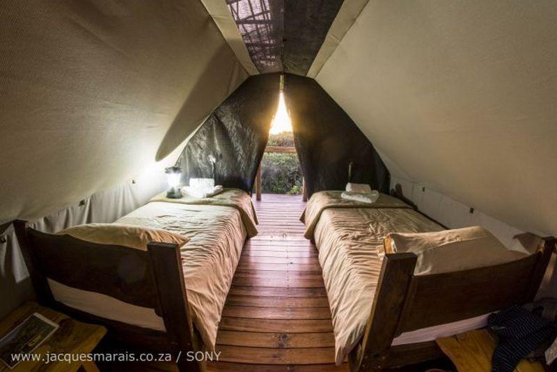 Slangkop tented Camp. Photo: Jacques Marais