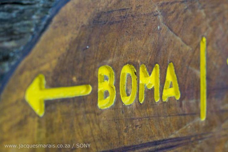 Boma this way. Photo:  Jacques Marais