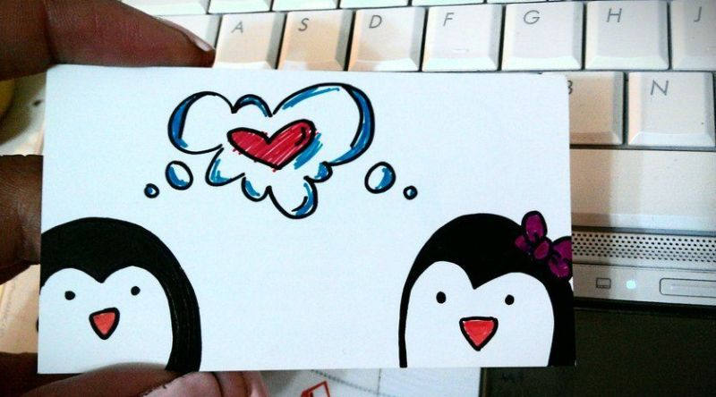 Love a Penguin Photo: DeviantArt