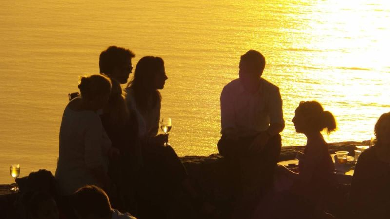 Sundowners Cape Town.  © Tablemountain.net
