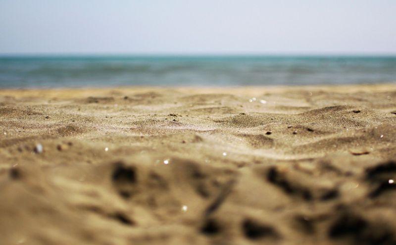 Beach Sand on Holiday