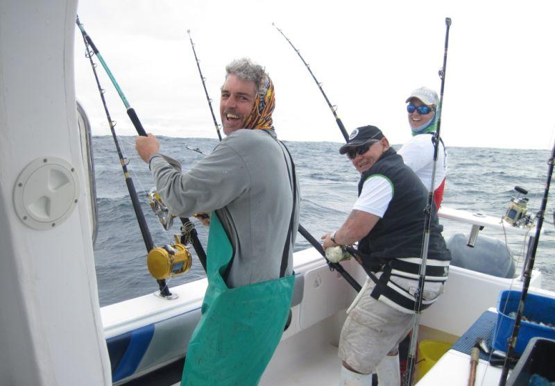 Deep Sea Fishing. Photo © Hooked on Africa Fishing Charters