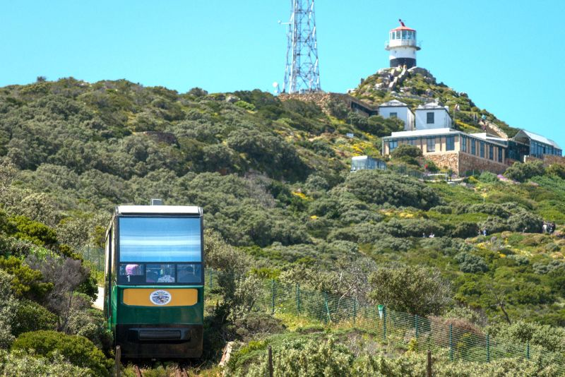 Flying Dutchman Funicular. Cape Point