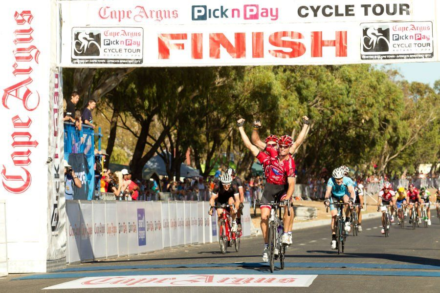 Green Point Finish Line Cape Town Cycle Tour