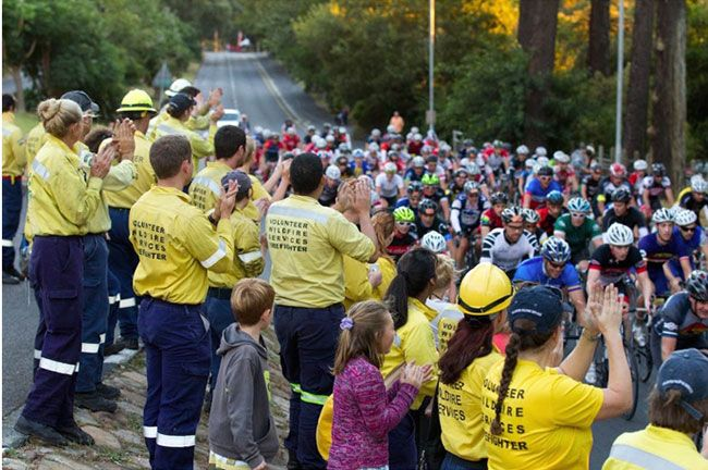 2015 Show You Care Solidarity Ride at Newlands Forest