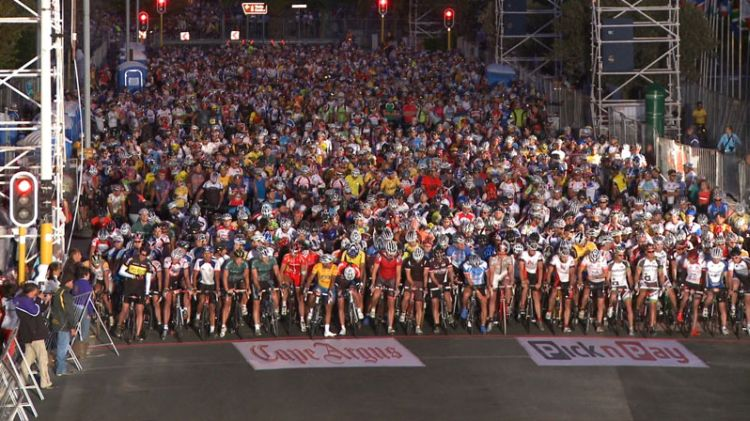 Cape Town Cycle Tour Start