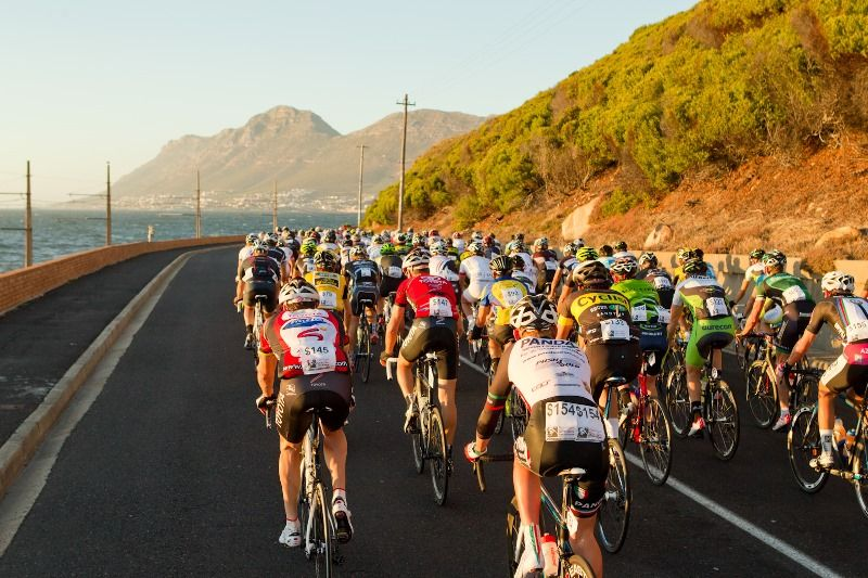 Cape Town Cycle Tour, Glencairn Photo:Capsol