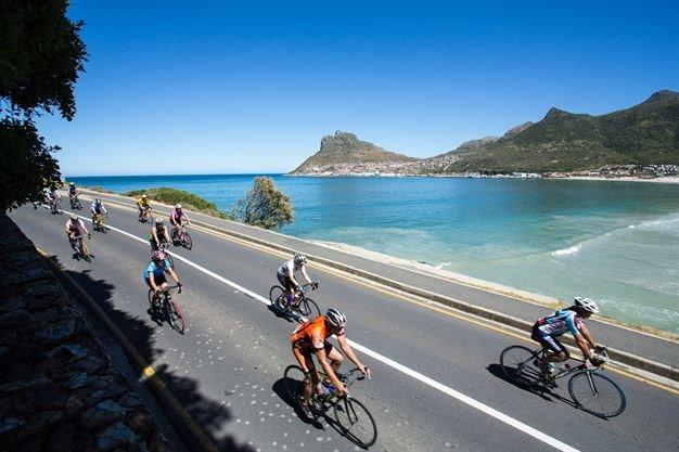 Cape Town Cycle Tour - Descending into Hout Bay - Nick Muzik, Gallo Images