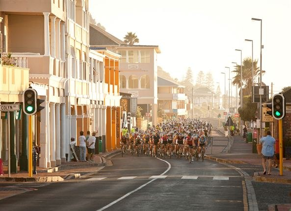 Cape Town Cycle Tour, Kalk Bay. Photo: Sam Clark, Gallo Images
