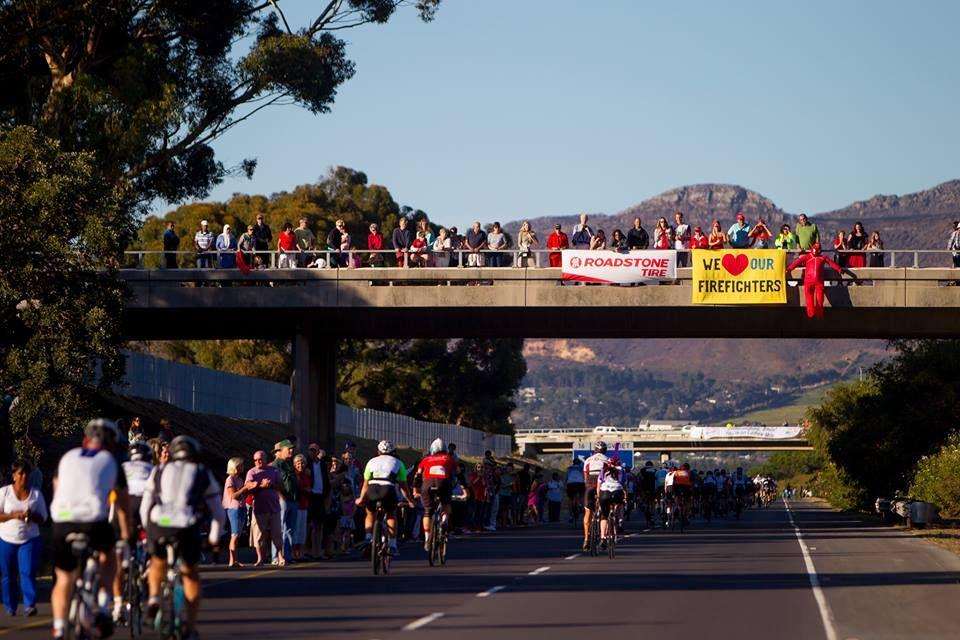 Cape Town Cycle Tour M3 Bridge Views