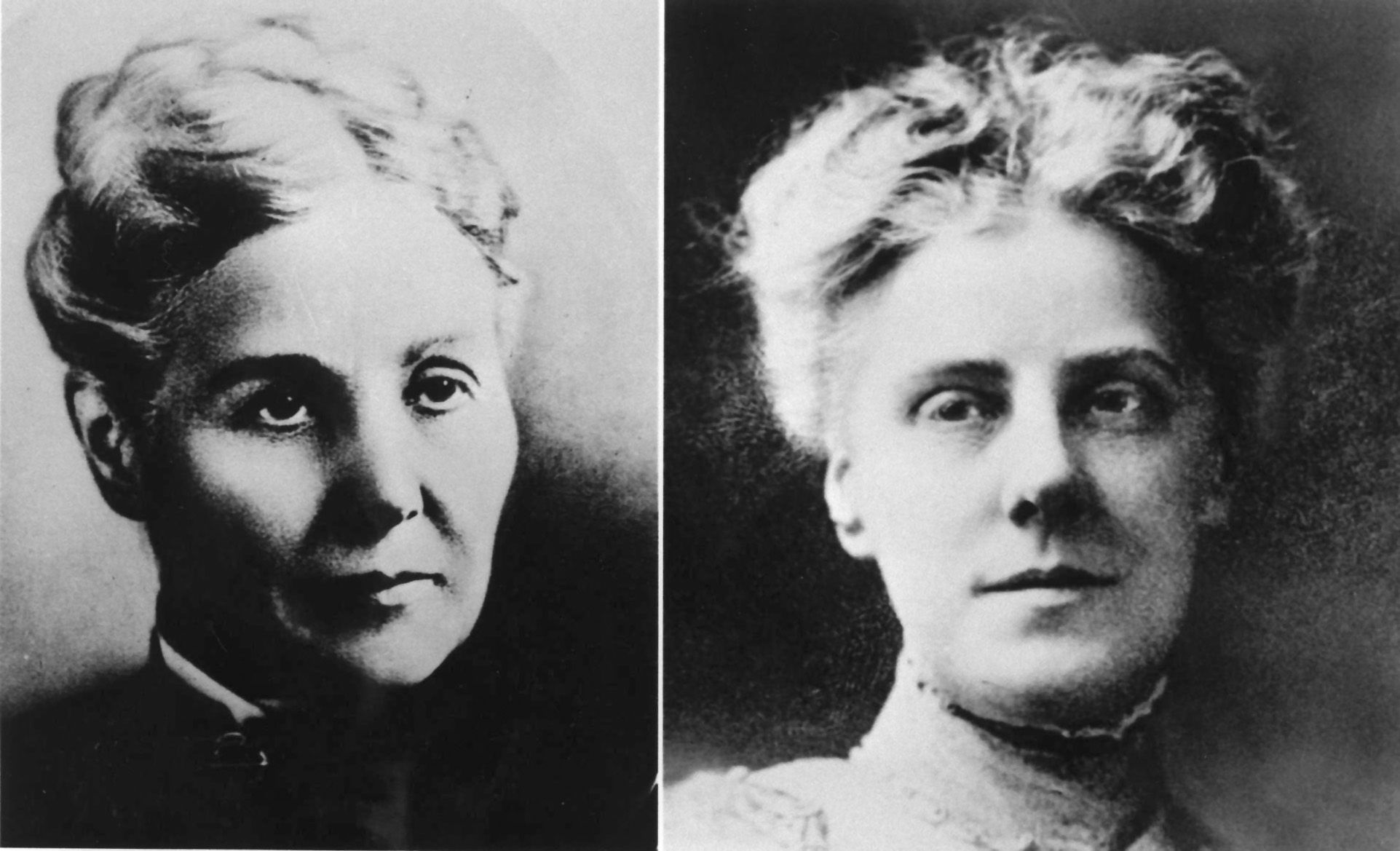 Mrs. Ann Jarvis and her daughter Anna Jarvis