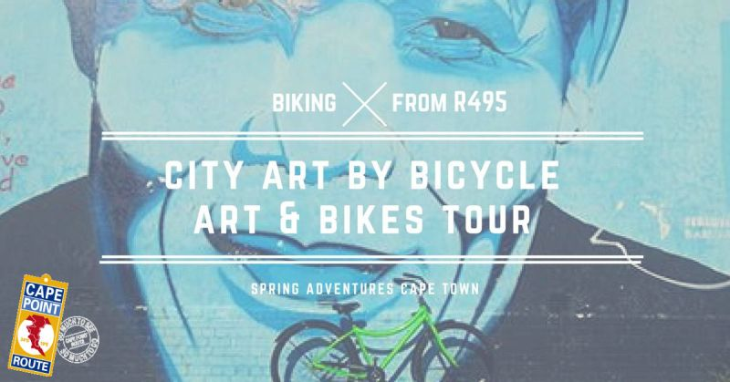 Art and Bikes - city cycling tour