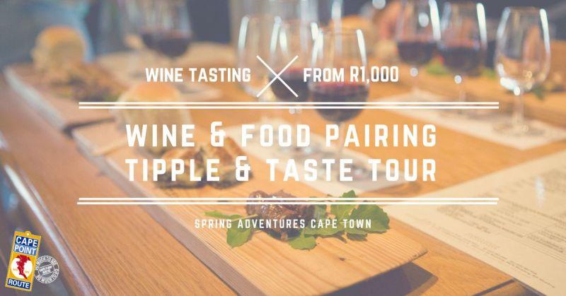 Food & wine pairing excursion
