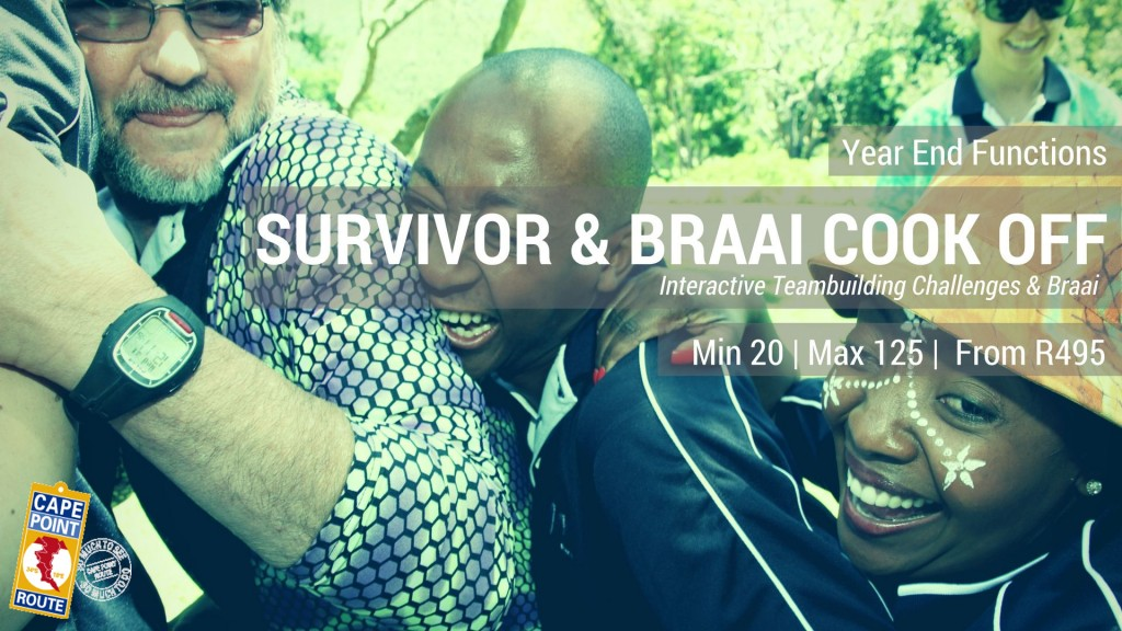 Year end Functions - Survivor and Braai cook off