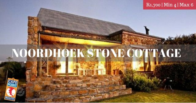 Winter Escapes - Noordhoek Stone Cottage