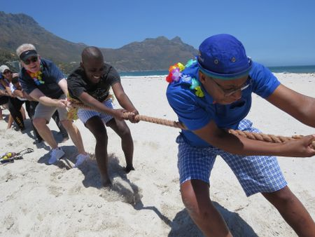 Year End Functions, Cape Town - Beach Olympics & Braai