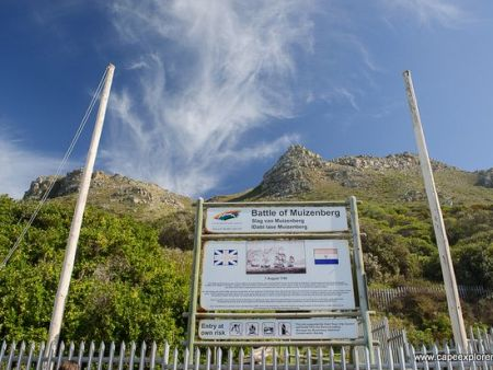Battle of Muizenberg Historical Site