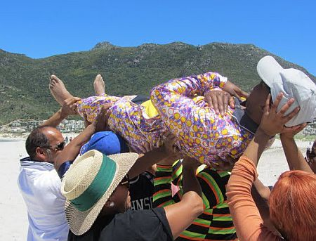 Cape Town Teambuilding - Beach Olympics