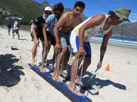 Teambuilding Cape Town - Beach Olympics