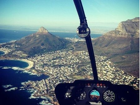 Cape Town Scenic Helicopter Flights