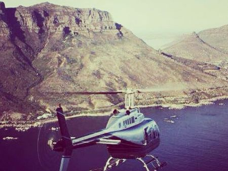 Helicopter Flights. Cape Town, Cape point