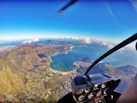 Scenic Helicopter Flights over Cape Town