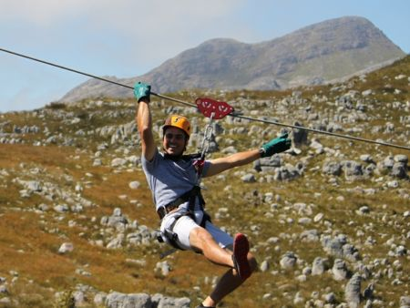 Eco-adventure activities, Cape Town - canopy tour
