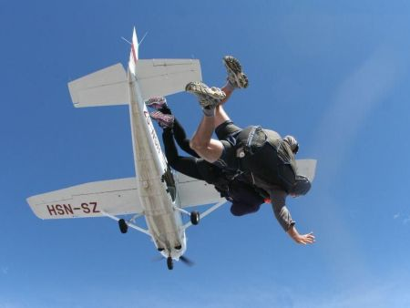 Tandem skydive in Cape Town