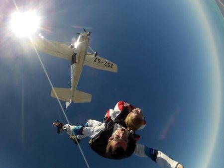 Cape Town, Tandem Skydive