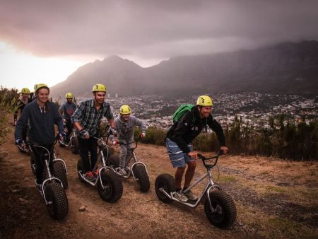 Cape Town Activities, Downhill Scooter tours