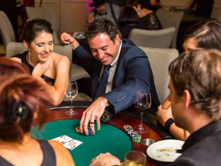 Casino Royale Event in the Winelands, year end function
