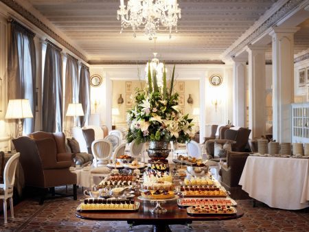 Cape Town Things to do: High Tea Mount Nelson Hotel