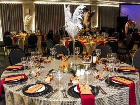 Cape Town corporate functions - overnight dinner dance