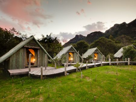 Cape Town accommodation - tented camp