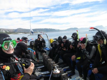 Scuba Diving and dive courses in Cape Town with Pisces
