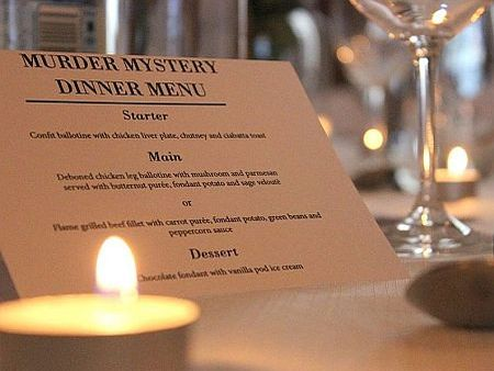 Murder Mystery Year End Function & Dinner, Cape Town