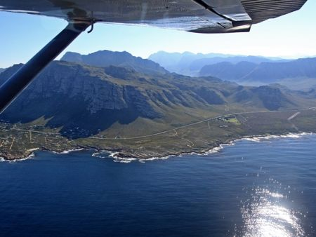 Cape Town Activities, Scenic Flight False Bay Sharks