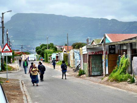 Cape Town - township bicycle tour