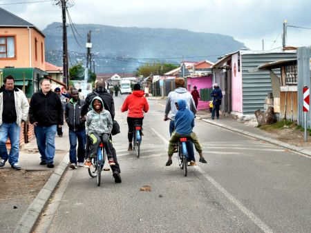 Bicycle tour in the townships, Cape Town