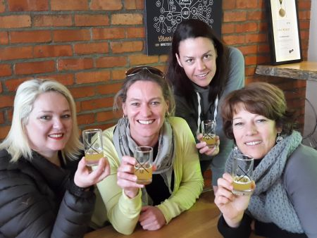 Food and wine and beer pairing - day tour winelands