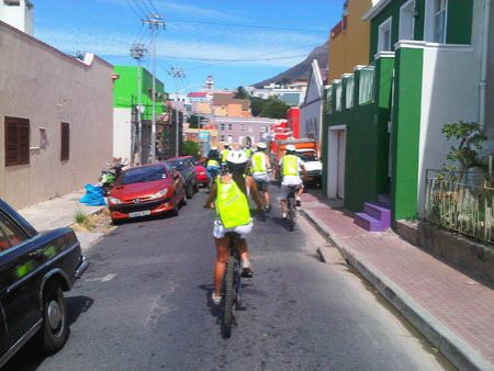 Cycling tour in Cape Town City