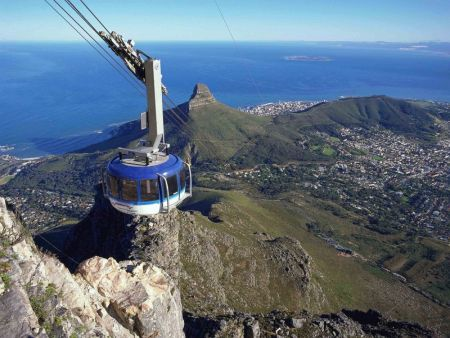Cape Town Scheduled Tour Half Day Half Day Table Mountain City - Table top mountain south africa